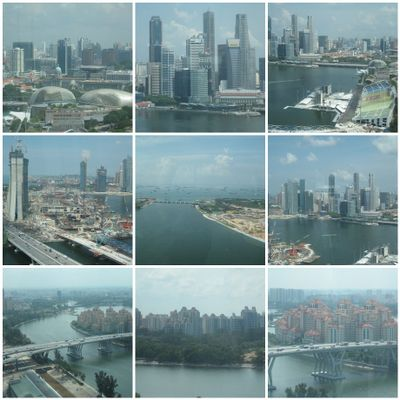esplanade from singapore flyer 2 cbd fullerton hotel from
